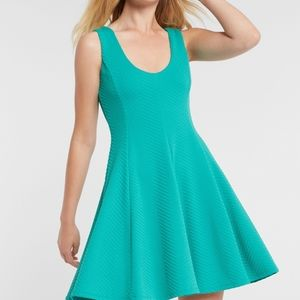 ANTHROPOLOGIE Hutch fit and flare scoop neck dress